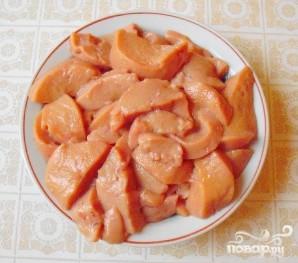 Телячьи яички в сметанном соусе - фото шаг 3