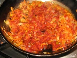 Болгарский перец с морковью - фото шаг 4