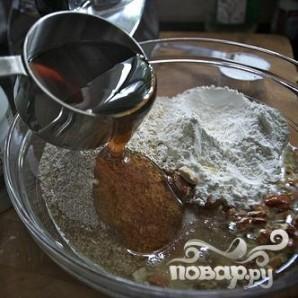 Миндально-овсяное печенье с джемом - фото шаг 3