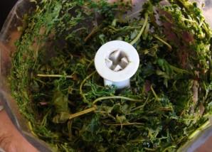 Квас из виноградных листьев - фото шаг 2