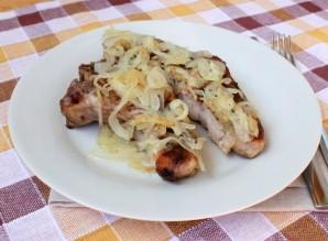 Антрекот из свинины в духовке - фото шаг 4
