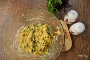 Оладьи из кабачков с тыквой в духовке - фото шаг 3