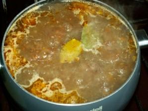 Суп из куриной печени - фото шаг 5