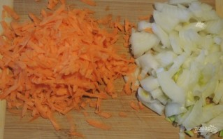 Фасоль с грибами в томатном соусе - фото шаг 4