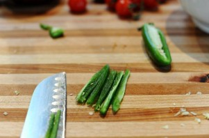 Горячий салат с говядиной - фото шаг 3