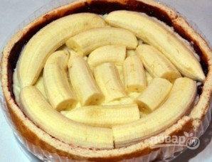 Банановый торт из готовых коржей - фото шаг 5