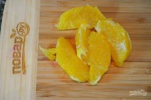 Салат из фенхеля и апельсина с заправкой из авокадо - фото шаг 3