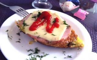 Жареные горячие бутерброды в льезоне - фото шаг 6