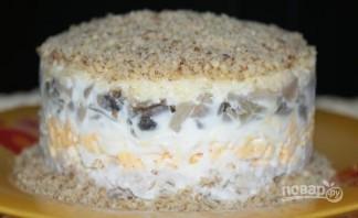 Салат с курицей, грибами и сыром - фото шаг 6