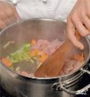 Суп из индейки с овсяными лепешками - фото шаг 2