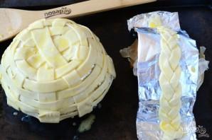 Съедобная корзинка для пасхальных яиц - фото шаг 5