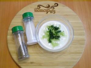 Кефир с огурцом и зеленью для похудения - фото шаг 3