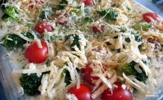 Брокколи с помидорами - фото шаг 3