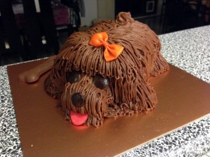 Торт в виде собаки  - фото шаг 4