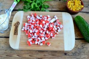 Крабовый салат рецепт классический - фото шаг 2