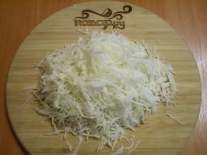 Солянка с курицей и капустой - фото шаг 2