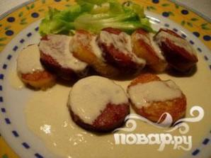 Картофельные ломтики под соусом - фото шаг 11