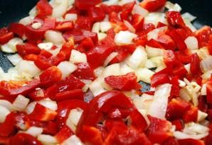 Паста с баклажаном и помидорами - фото шаг 3