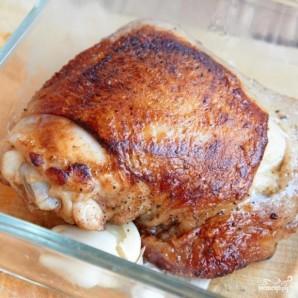 Курица в молоке с шафраном и лимонной цедрой - фото шаг 3