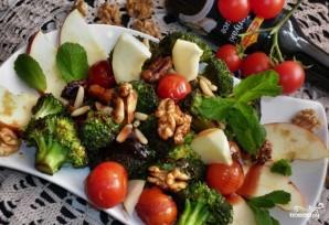 Салат с брокколи и помидорами - фото шаг 4