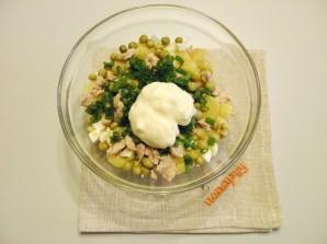 Салат из печени трески - фото шаг 5