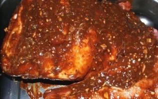 Ребрышки барбекю, запеченные в духовке - фото шаг 6
