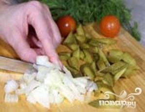 Макаронный салат с копченой рыбой - фото шаг 1