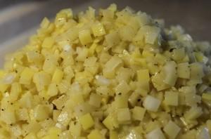 Вареники с сырой картошкой - фото шаг 1