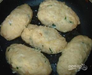 Куриные котлеты с грибами и сыром - фото шаг 5