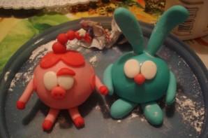 """Торт """"Смешарики"""" - фото шаг 8"""