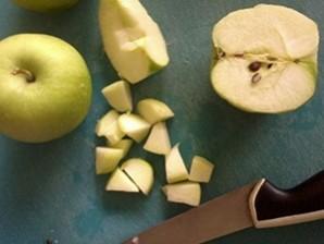 Салат с виноградом и ветчиной - фото шаг 3