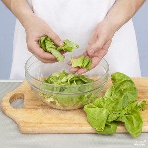Летний салат по-гречески - фото шаг 1