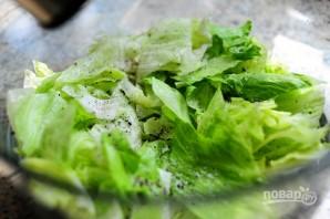 Очень вкусный слоеный салатик - фото шаг 3