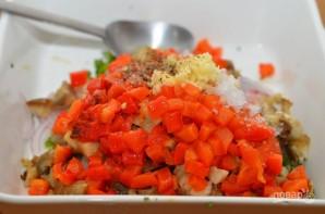 Салат из баклажанов с зеленью - фото шаг 6