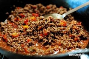 Жаркое из говядины с фасолью и помидорами - фото шаг 3