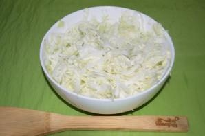 Пирог с капустой и овощами - фото шаг 1