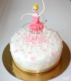 "Торт ""Балерина"" - фото шаг 8"