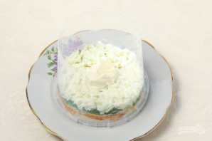 "Салат ""Мимоза"" (рецепт с рисом) - фото шаг 4"