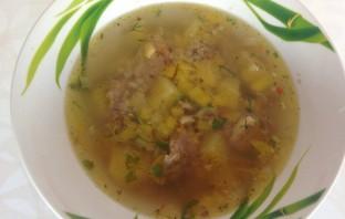 Гречневый суп со свининой - фото шаг 6