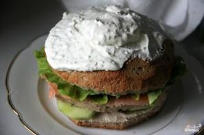 Шведский бутербродный торт - фото шаг 7