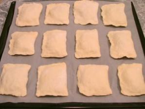 Слоеные пирожки с курицей - фото шаг 8