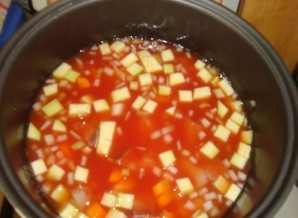"""Рыбный суп в мультиварке """"Pедмонд"""" - фото шаг 8"""