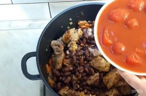 Касулле (мясо с фасолью и овощами) - фото шаг 2