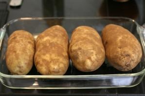 Картофель, фаршированный сыром - фото шаг 1