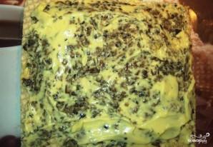 Бутербродный торт с сельдью - фото шаг 2