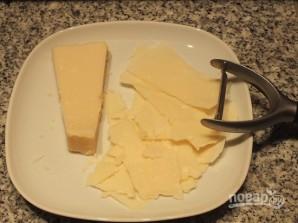 "Салат с сыром ""Пармезан"" - фото шаг 4"