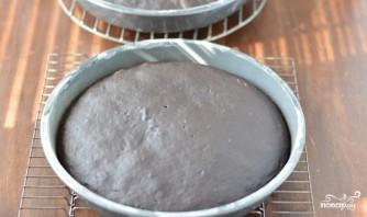 Шоколадный торт с творожным кремом - фото шаг 3