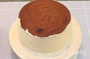 Торт для парня на День рождения - фото шаг 3