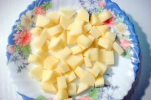Горшочки с капустой, картофелем и курицей - фото шаг 3