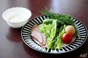 Закуска из огурцов - фото шаг 1